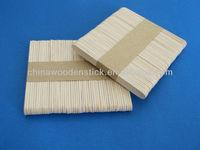 Chinese birch custom wooden popsicle sticks