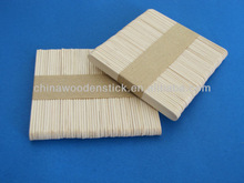 Chinese birch custom wooden popsicle sticks