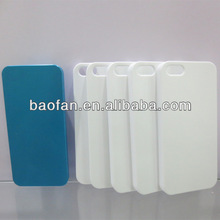 DIY 3D blank sublimation cell phone case for IP5