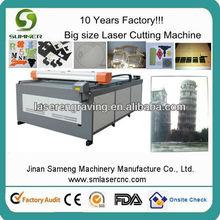 dual heads laser cutting machine /double head laser cutting flat bed machine /double heads laser engraving & cutting machine