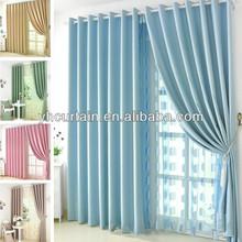 salon decorating curtain electric blue curtains