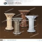 High quality indoor decorative columns PU roman pillar