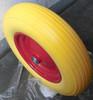 16 inch flat free soild rubber wheel barrow wheel tire