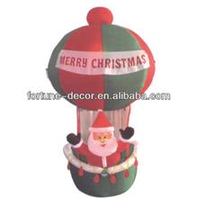 Inflatable Santa Hot Air Balloon