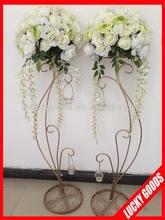 40cm high quality decprativ white artificial flower wedding centerpiece wholesale