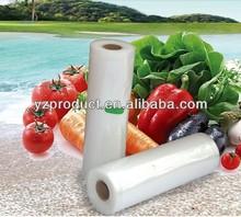 Food vacuum plastic rolls
