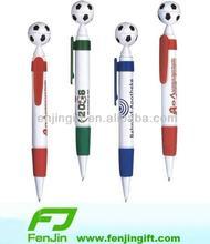 custom logo promotion soccer ball pen