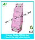 shop cardboard display trays/ display cardboard box/ cardboard t-shirt display box