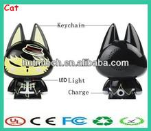 MIni Cat animal design Bluetooth speaker manufacturer for mobile phone