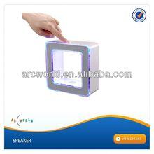 AWS278 Touch Sensor LED Table Lamp Mini Speaker, wall speaker mounts