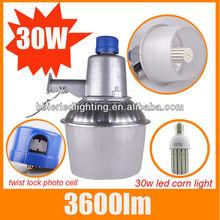 E40 30W Motion sensor outdoor led street light rising sun