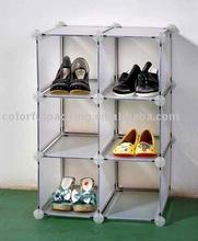 Shoe closet storage