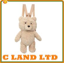 stuffed animal kids plush teddy Ted bear backpacks