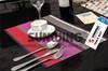hotel cork slip resistant sisal wicker table mat