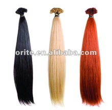Hot Fashion Pre-bonded Hair Extension U Tip Hair Extension Unprocessed 100% Virgin Brazilian Hair