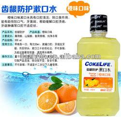 300ML COKELIFE Mint good mouthwash for gingivitis alcohol free mouthwash