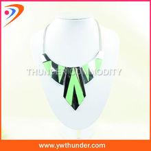costume fashion bib alloy chunky statement necklace