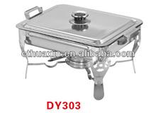 folding leg design stainless steel mini chafing dish