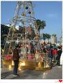 nouveau design 2014 énorme arbre de noël artificiel faire en chine