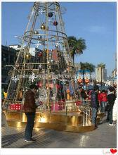 2014 nouveau design énorme arbre de noël artificiel faire en chine