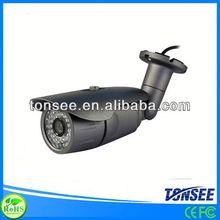 Nuovo design ip66 pioggia e sensore di luce impermeabile vivere telecamere di sicurezza cctv(ce fcc rohs passato)