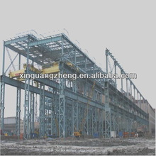 iron structure building autocad workshop steel structure drawing