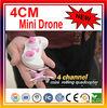 Cheaper Quadcopter! 4CM New 4CH RC Mini Quadcopter Toy ,Mini RC Toys