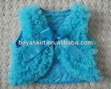 hot sale soft cotton girls shawls very cute New design chiffon baby shawls