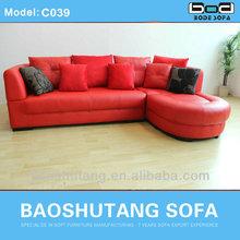 2014 Popular Design Leather Sofa C039