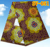Pretty and Colorful African Wholesale Real Wax Prints Batik Fabric on Sale