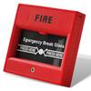factory 24v fire break glass four color optional