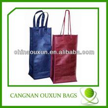Stable 2 wine bottle cardboard bag