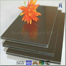 gold mirror finish aluminum composite panel new popular building material