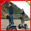 CE approved cross country version green power motorcycle with 2 front big wheels 18 km/h maximum