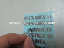 plating nickel labels