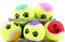 "pet tennis ball dog toys pet ball pet tennis ball, 2.5"""