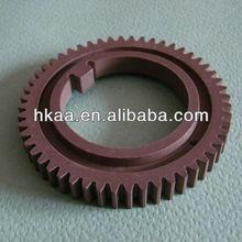 Precision Plastic Injection Molding OEM Upper Fuser Roller Gear For Laser Printer/Copier