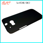 New Arrival Rubber Hard Back Case For HTC ONE 2 m8