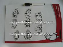custom flexible magnetic fridge magnet whiteboard