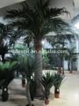 Artificial árbol de palma de coco