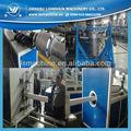 Haute pression ligne de production de tuyaux en pehd, Tuyau de gaz de hdpe ligne d'extrusion