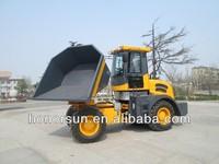 4X4 tipper truck site dumper with CE