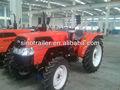 tractor de granja con implementos