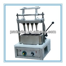 Stainless steel, 4 head ice cream cone wafer making machine