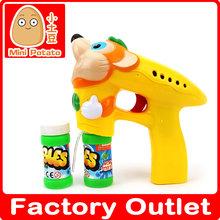 Kaliteli çocuk oyuncak kabarcık silah sıcak oyuncaklar temin üfleme kabarcıklar oyuncak, kabarcıklar üfleme