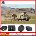 Hagglunds BV 206 rubber track customed in China