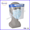 CE Certificated Top Quality Half Size Clip On Disposable Face Shield