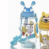 100785 eco friendly animal shape water bottles kids,leak proof water bottles for kids,personalized plastic cups for kids