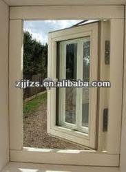Double glazing PVC windows with decoration grids