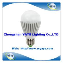 YAYE 2014 Best Sell Factory Price 3W/5W/7W/9W/12W LED Bulbs & 12W LED Bulb Light with 2 years Warranty